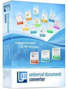 Universal Document Converter 6.7 Crack